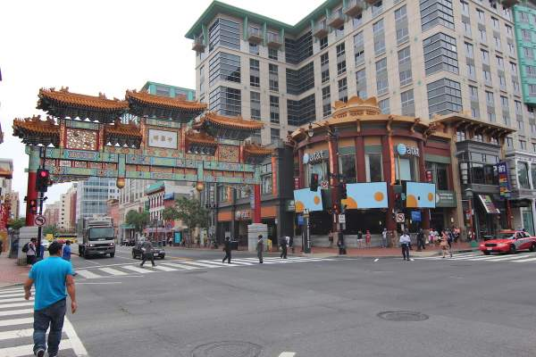 China Town/Penn Quarter in Washington, DC.