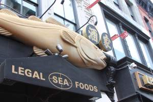 Legal Sea Food in Chinatown/Penn Quarter