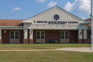 Gayle Middle School in Stafford, Virginia