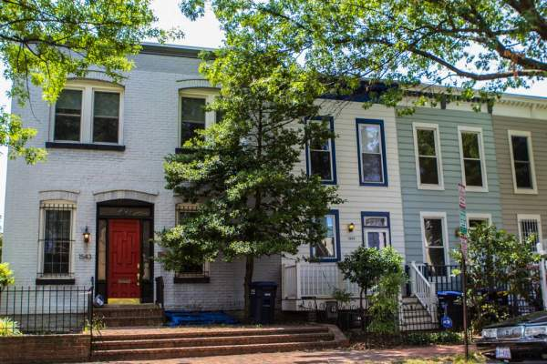 Homes in Capitol Hill, Washington D.C.