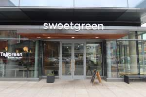 Sweet Green Restaurant in Washington DC's Navy Yard