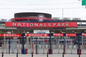 Nationals Park Baseball Stadium in Washington DC's Navy Yard Neighborhood