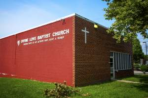 Divine Love Baptist Church in Deanwood