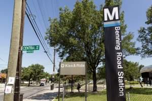 Benning Road Metro Station