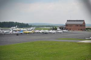 Leesburg Executive Airport in Loudoun County, VA