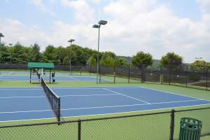 Ida Lee Park Tennis Courts in Leesburg, Virginia