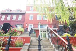 Mt. Pleasant Row Home within DC's 20010 Zip Code