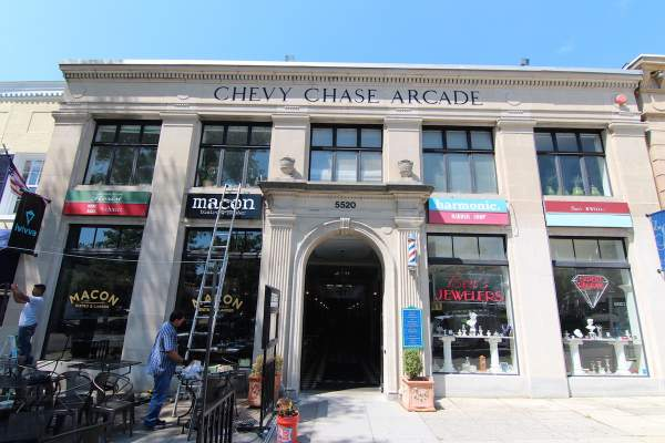 Chevy Chase Arcade Barbershop within DC's 20015 Zip Code