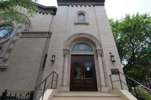 Jewish Temple in Mt. Vernon Square