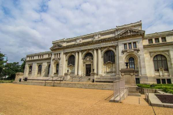 Carnegie Hall Library in Washington, DC
