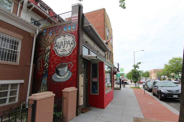 Brightwood's Wapa Cafe within DC's 20011 Zip Code