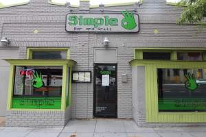 Simple Bar & Grill within DC's 20011 Zip Code