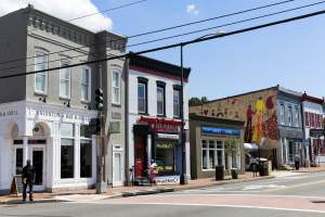Shops in Historic Anacostia (DC Zip Code Guide 20020)