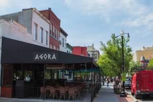 Agora Restaurant, Dupont Circle (20036 DC Zip Code Guide)