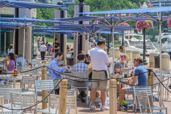 Georgetown Waterfront Restaurants within DC's 20007 Zip Code