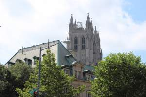 Washington National Cathedral in DC's Cathedral Heights Neighborhood