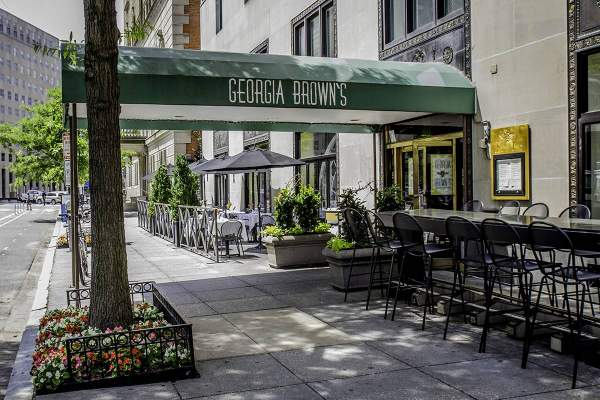 Georgia Brown's Eatery in Downtown, DC
