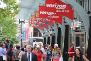 Verizon Wireless Center in Downtown, DC