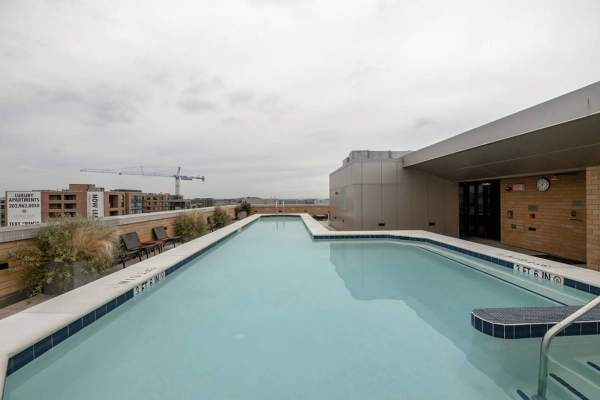 Rooftop Pool - L at City Vista Condo