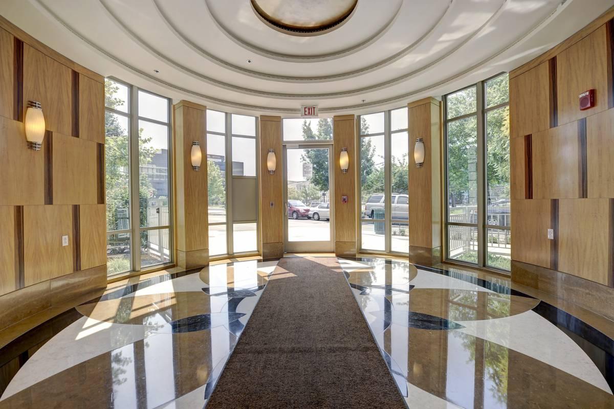 Lobby Of The Sonata Condo In Washington Dc