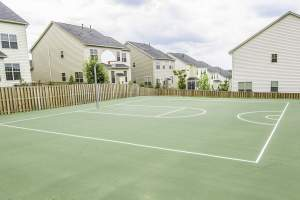 Neighborhood Basketball Court