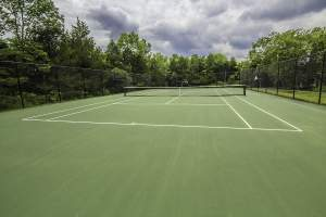 Tennis Courts in Alexander's Chase