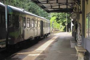 VRE at Backlick Road Station