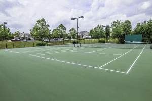 Tennis Courts in Lakes at Red Rocks Community Leesburg VA