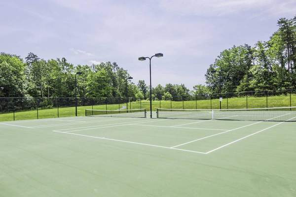 Tennis Courts at Potomac Station leesburg va