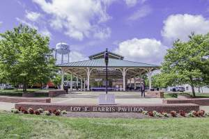 Loy Harris Pavillion in Manassas, VA.