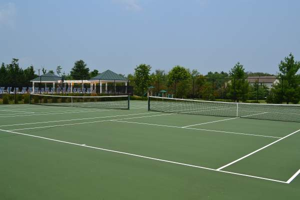 Evergreen Meadows Tennis Courts in Leesburg, Virginia