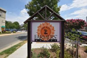 Farmers Market in Alexandria's Del Ray Neighborhood