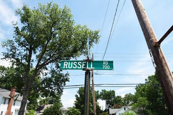 Russell Street in Rosemont