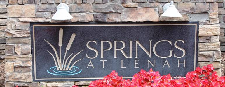 Homes for Sale in Springs at Lenah