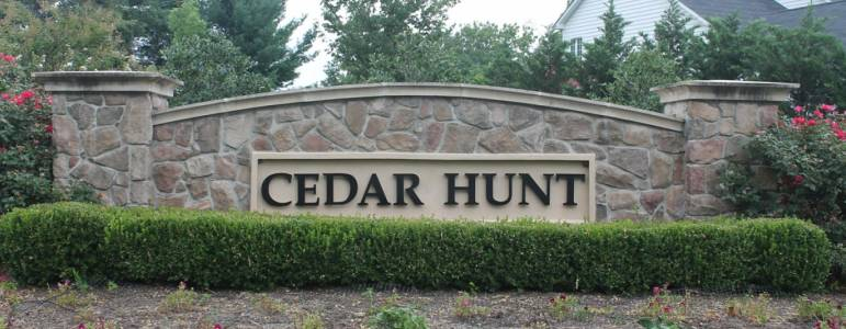 Homes for Sale in Cedar Hunt