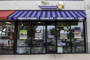 The Meadows Frozen Custard Shop One Loudoun Ashburn VA