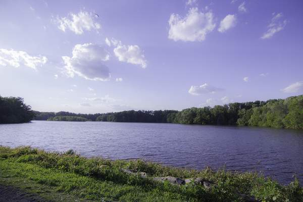 Lake Accotink in Springfield, VA.