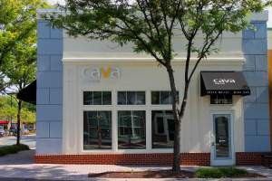 Cava Mezze Restaurant in North Potomac, Maryland