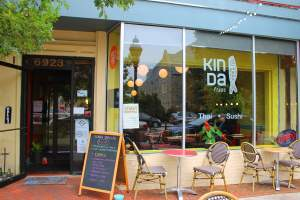 Kin Da Thai and Sushi in Takoma Park, Maryland