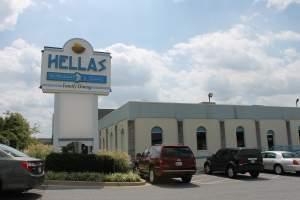Hella's Restaurant in Odenton, Maryland