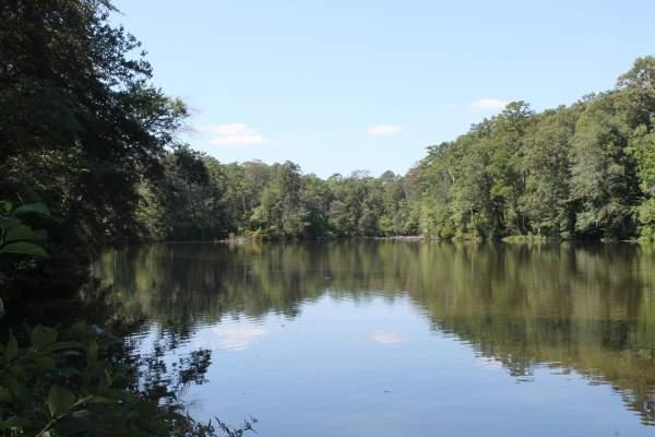 Lake Waterford Park in Pasadena, Maryland