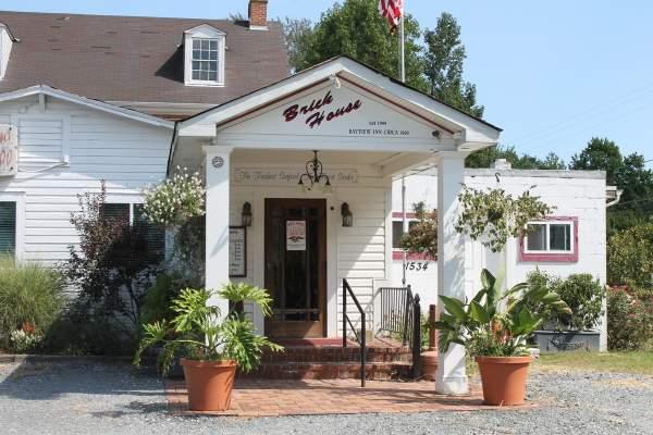 Brick House Restaurant in Shady Side, Maryland