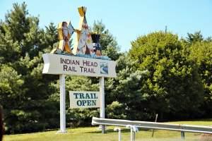Indian Head Rail Trail in Whiteplains, Maryland