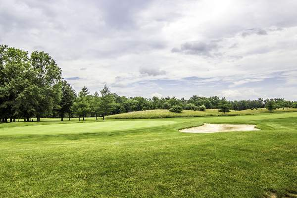 Brambleton Regional Park Golf Course in Ashburn, Virginia.