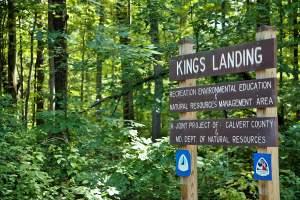Kings Landing Park in Huntingtown, Maryland