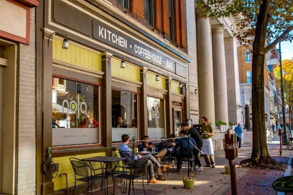 Cafe Nola in Downtown Frederick, Maryland