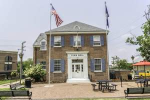 Herndon Old Town Hall in Herndon, Virginia.