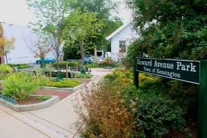 Howard Avenue Park in Kensington, MD