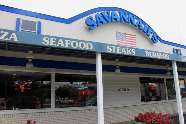 Savannah's Grill in Kensington, Maryland