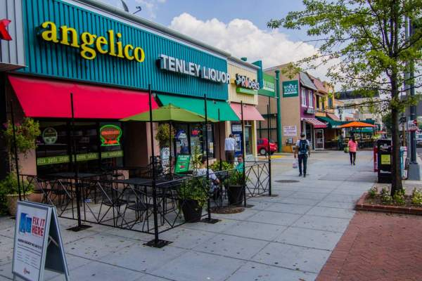 Tenleytown Shops in Washington, D.C.
